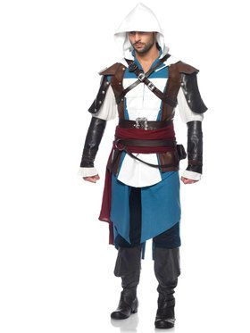 Assassins Creed IV Black Flag Edward Men's Costume