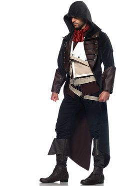 Assassins Creed Unity Arnaud Men's Costume