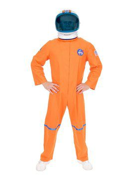 Astronaut Suit - Plus Adult Orange