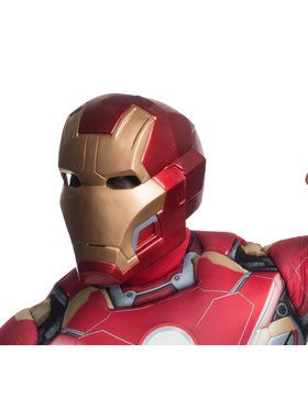 Avengers 2: Age of Ultron: Mark 43 Iron Man Adult 2 Piece Mask