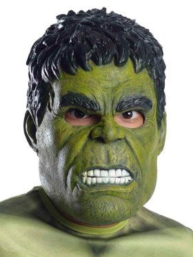 Avengers 2 - Age of Ultron: The Hulk 3/4 Mask For Children