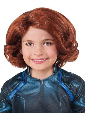 Avengers 2 Black Widow Children's Wig