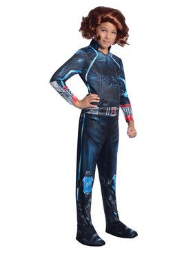 Avengers 2 Black Widow Girls Costume