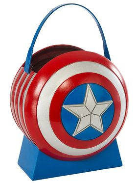 Avengers 2 Captain America Boys Collapsible Shield Pail
