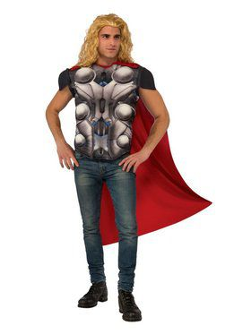 Avengers 2 Thor Top Men's Costume