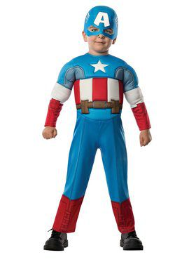 Avengers Assemble Captain America Toddler Boy's Costume