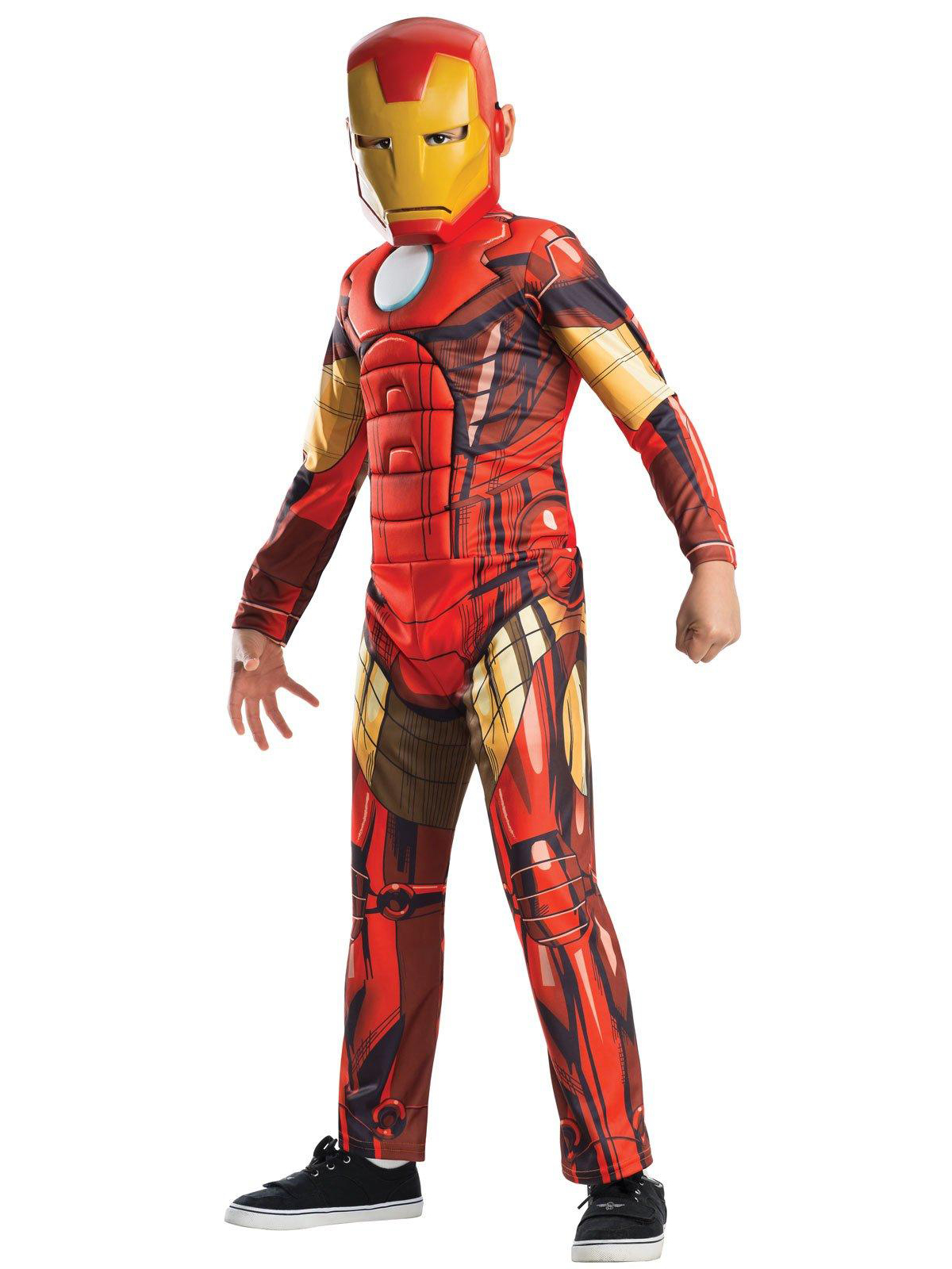 Avengers Assemble Deluxe Iron Man Kids Costume 219327