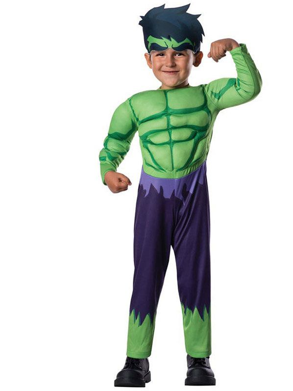 Avengers Assemble Hulk Toddler Costume Toddler  sc 1 st  Wholesale Halloween Costumes : baby incredible hulk costume  - Germanpascual.Com