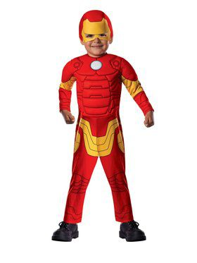 Toddler Deluxe Iron Man Costume