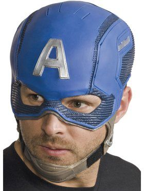 Adult Avengers: Endgame Captain America 3/4 Mask