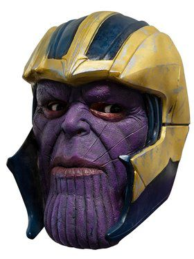 Avengers: Endgame Adult Thanos 3/4 Vinyl Mask