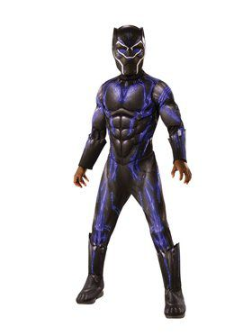 Avengers Endgame Deluxe Purple Black Panther Battle Costume