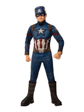 Avengers: Endgame Captain America Deluxe Child Costume