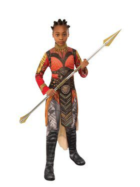 Avengers Endgame Gold Dora Milaje Costume for Kids