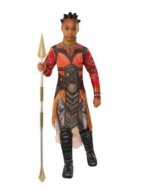Avengers Endgame Deluxe Dora Milaje Okoye Gold Costume for Kids