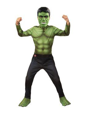 Avengers: Endgame Hulk Child Costume