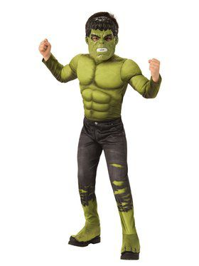 Avengers: Endgame Hulk (2) (2018) Deluxe Child Costume