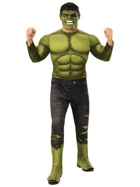 Avengers Endgame Hulk 2 Deluxe Costume for Adults