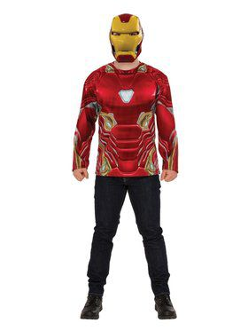 Avengers Endgame Iron Man Top Costume