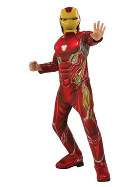 Avengers Endgame Deluxe Iron Man Mark 50 Costume