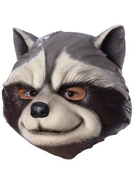 Kid's Avengers: Endgame Rocket Raccoon 3/4 Mask