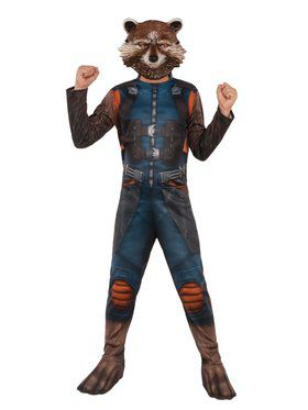 Avengers Endgame Rocket Raccoon 2019 Costume