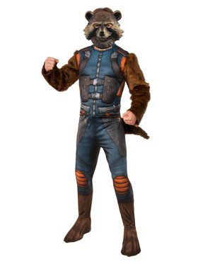 Avengers Endgame Rocket Raccoon Costume Deluxe
