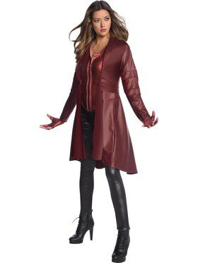 Avengers Endgame Scarlet Witch Secret Wishes Costume for Adults