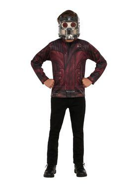 Avengers Endgame Star Lord Top Costume for Kids