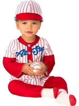 Baseball Player Costume for Babies