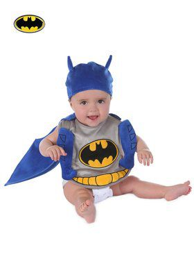 Baby Batman Unlimited Bib Set Costume Toddler