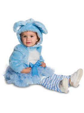 Blue Baby Bear Costume