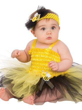 Little Baby Bumble Bee Diaper Set Costume