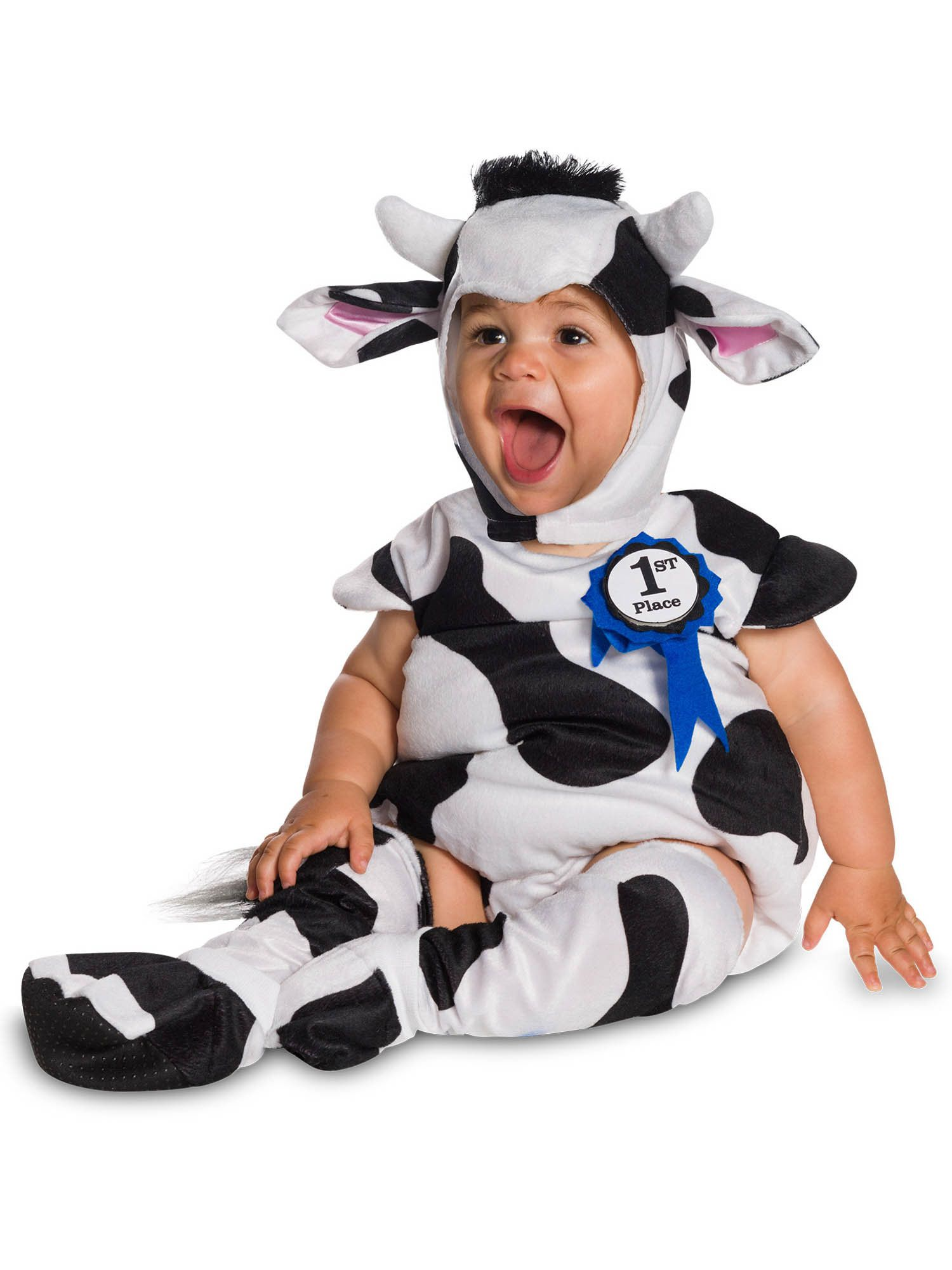 Cow Baby Costume  sc 1 st  Wholesale Halloween Costumes : cow costume for child  - Germanpascual.Com
