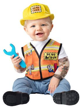 Baby Demo Crew Costume Toddler