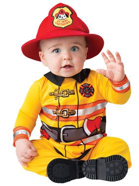 Baby Fearless Firefighter Costume Toddler