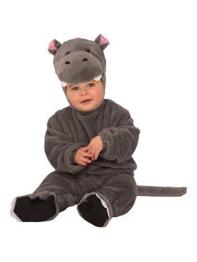 Infant Plush Hippo Costume
