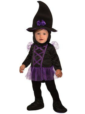 Kiddie Witch Costume for Infants