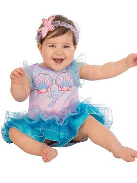 Pretty Underwater Mermaid Baby Costume