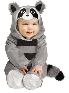 Baby Raccoon Costume For Babies
