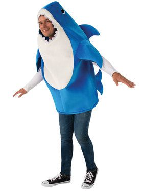 Adult Daddy Shark Costume - Baby Shark
