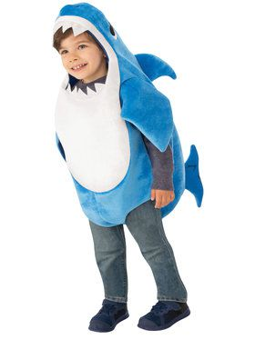 Kids Daddy Shark Costume - Baby Shark