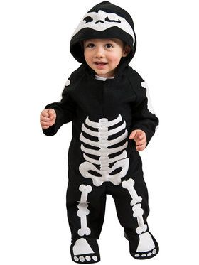 Baby Skeleton Costume For Toddlers