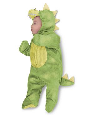 Baby Green Dino Sleepy Costume