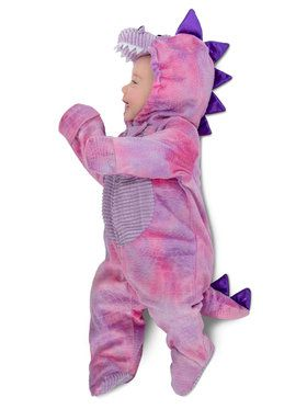 Pink Baby Sleep Dino Costume