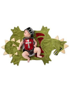 Baby Dragon Slayer Swaddle Wings Costume
