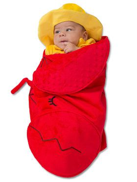 Baby Lobster Fishmerman Swaddle Wings Costume