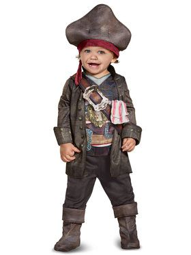 Captain Jack Classic Costume For Toddlers