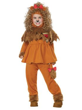 Courageous Lion of Oz Costume For Toddlers