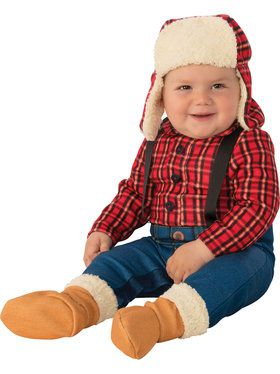 Lumberjack Baby/Toddler Costume